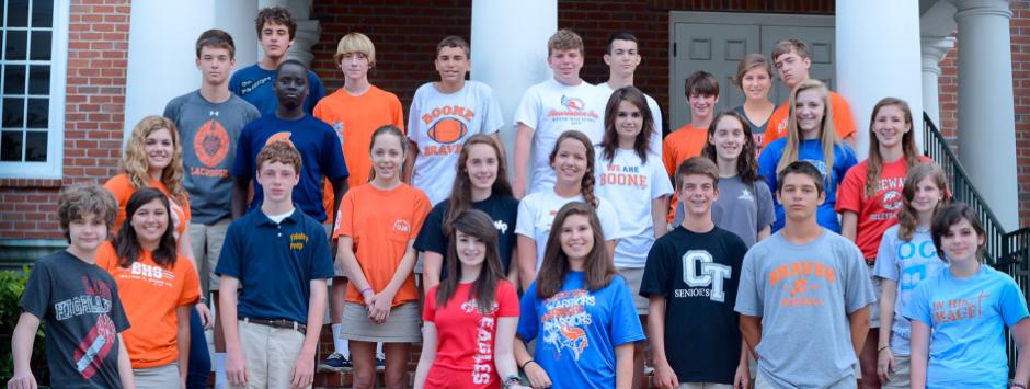 8th grade high school t-shirtb