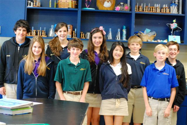 Winners of the Science Fair
