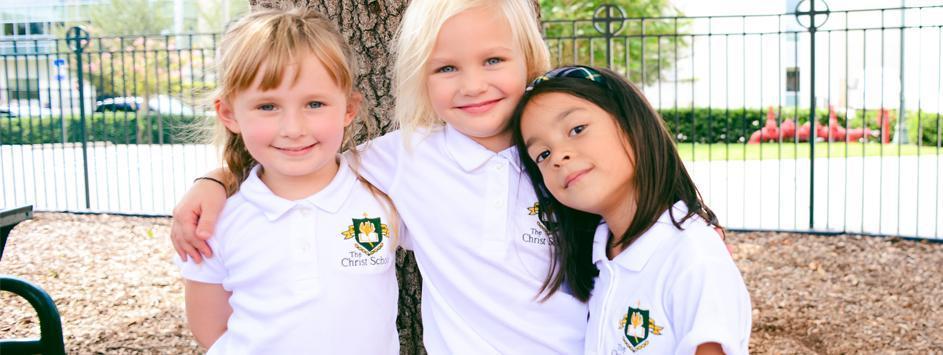 girls on playground